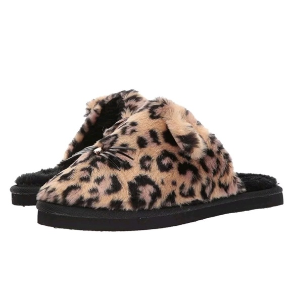 bc6d67de22d1 kate spade Shoes | New York Belindy Cat Slippers Leopard | Poshmark